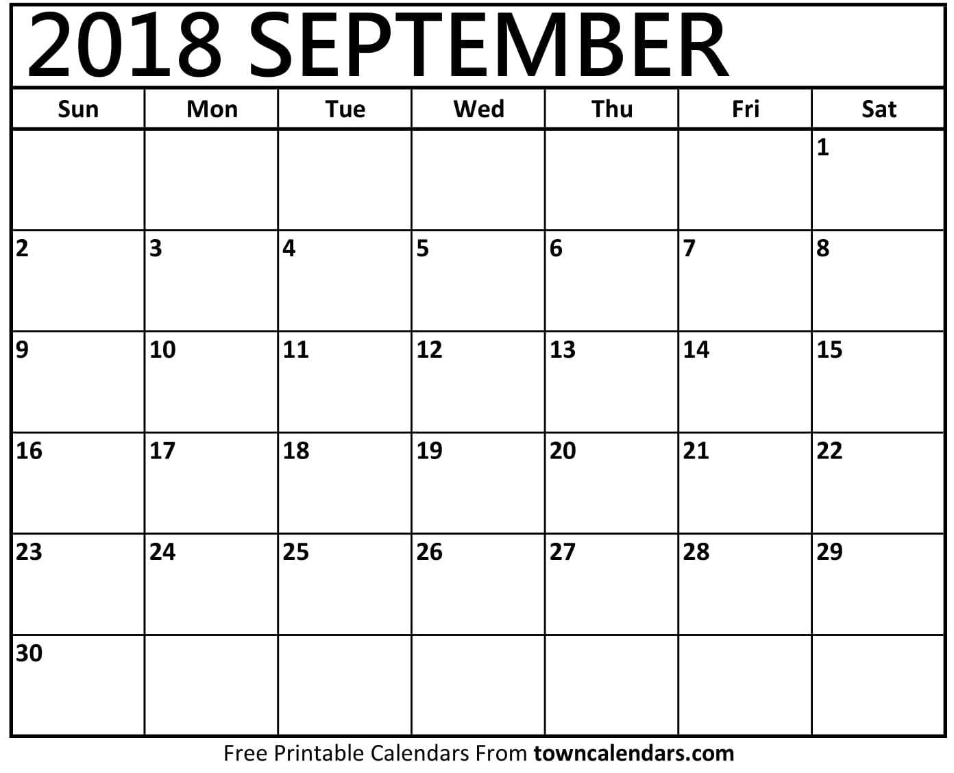 printable september 2018 calendar september 2018 calendar printable